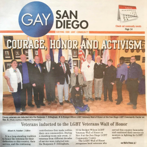 Gay San Diego: Courage, Honor and Activism